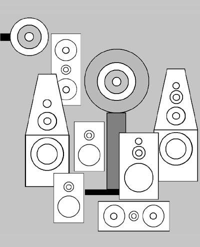 wallpaper speaker design