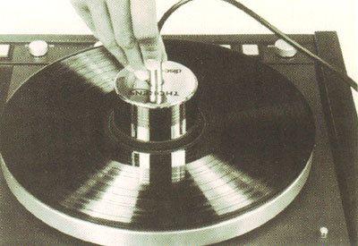 The Universal Rsr Lp Stabilizer Disc Ring Outer Record