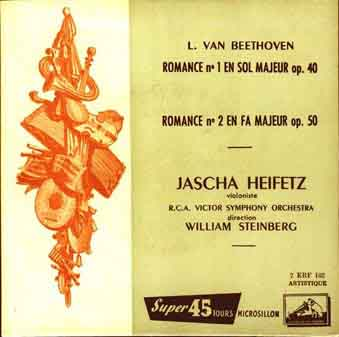 Heifets and the Beethoven Romances.