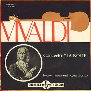Alma Musica play Vivaldi on Ducretet-Thomson